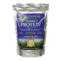 Sun warrior class raw vegan protein