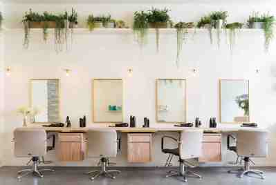 aer Blowdry Bar, Kensington London