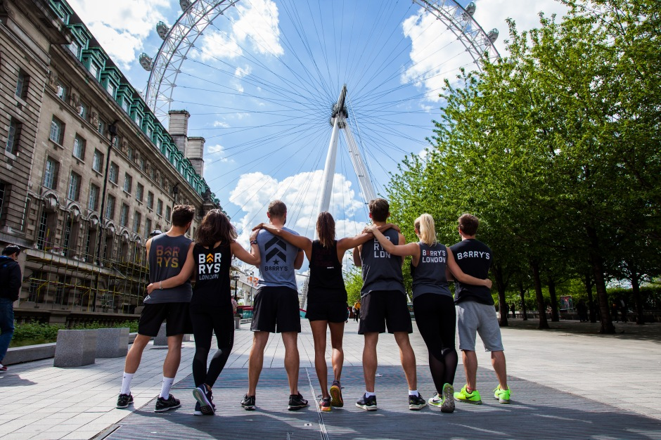 Barry's Bootcamp Takes Over The London Eye
